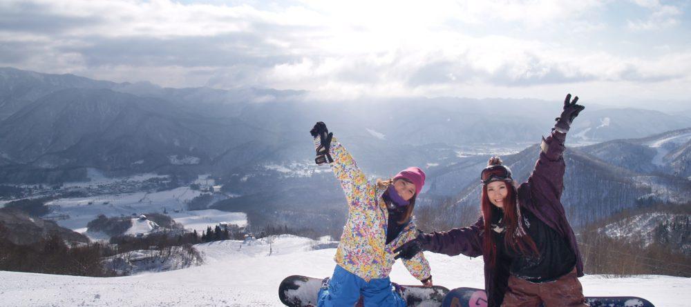 スキーやスノーボードで 英語を身に付ける!